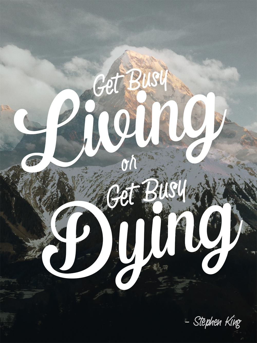how to get rid of fear of dying