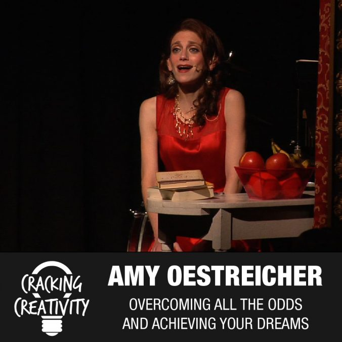 Amy Oestreicher on Being a Detourist, Being More Capable Than We Think, and Taking Risks - Cracking Creativity Episode 72